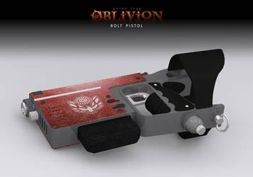 DS: Oblivion - Bolt Pistol by samsunlobe