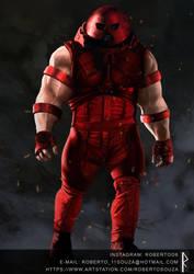 MCU Juggernaut by RobbARQ