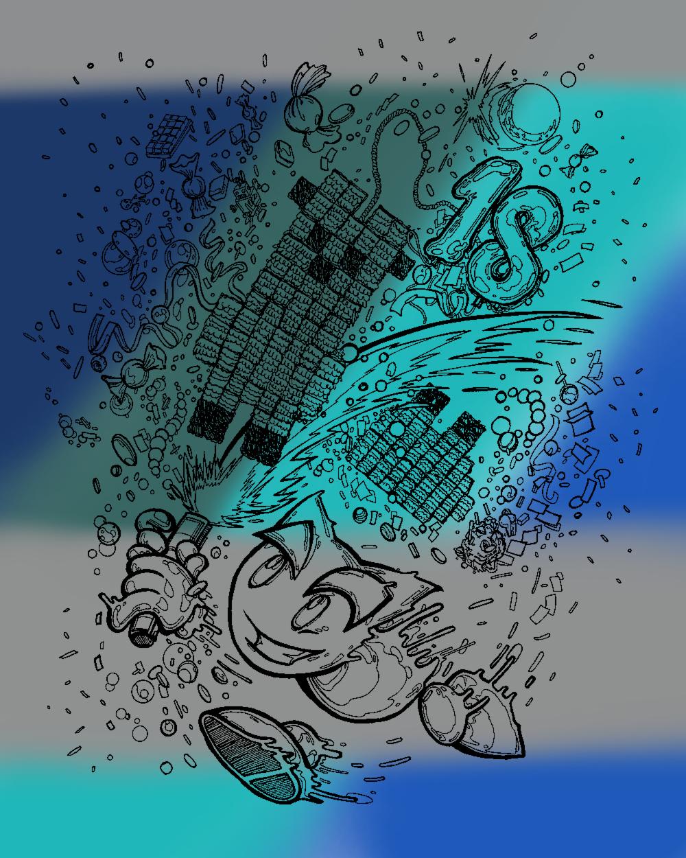 deviantART 18th Birthday Drawing by NitroactiveStudios