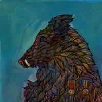 Boar by friendbeast
