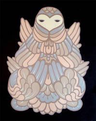 Owl Totem Three by friendbeast