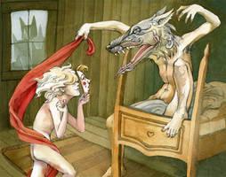 Red Riding Hood by friendbeast