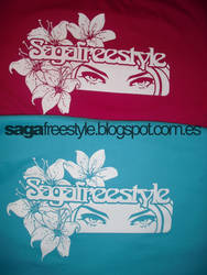 Gazing at flowers T-Shirt by sagafreestyle