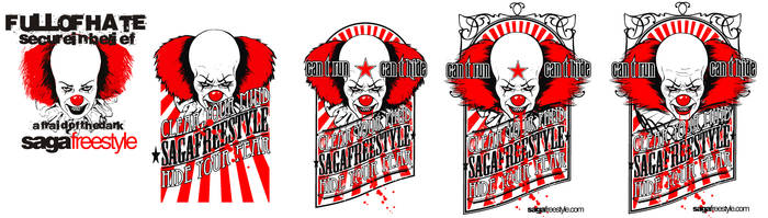 CLOWN FULL OF HATE by sagafreestyle