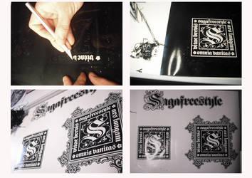 Vinyl Stickers by sagafreestyle
