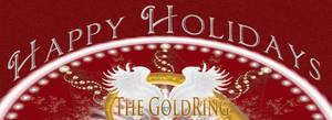 Happy Holidays Dna Gold by Ashnandoah