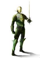 Thorn Knight by BlueRogueVyse