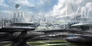 Hadros - Cityscape by BlueRogueVyse