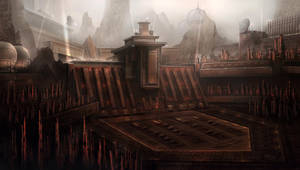 Balor - Cityscape by BlueRogueVyse