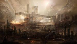 Zentic - Cityscape by BlueRogueVyse