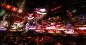 Urban Racing by BlueRogueVyse