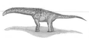 Isisaurus colberti by EmperorDinobot