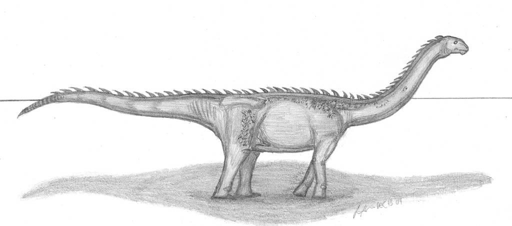 Epachthosaurus sciuttoi by EmperorDinobot