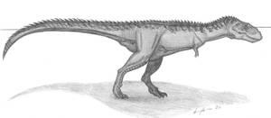 Mapusaurus roseae by EmperorDinobot