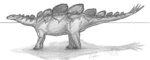 Hesperosaurus mjosi by EmperorDinobot
