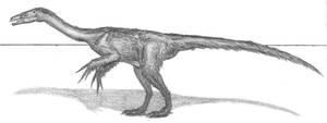 Falcarius utahensis by EmperorDinobot