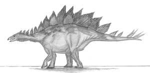 Stegosaurus stenops by EmperorDinobot