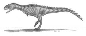 Majungasaurus crenatissimusIII by EmperorDinobot