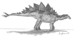 Jiangjunosaurus junggarensis by EmperorDinobot
