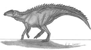Anasazisaurus horneri by EmperorDinobot