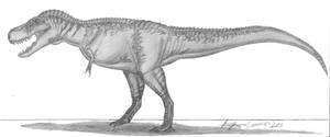 Tarbosaurus bataar by EmperorDinobot