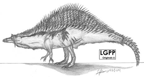 Spinosaurus aegyptiacus version 2 by EmperorDinobot