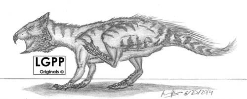 Archaeoceratops oshimai by EmperorDinobot