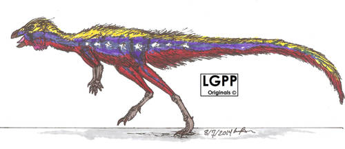 Laquintasaura  venezuelae by EmperorDinobot