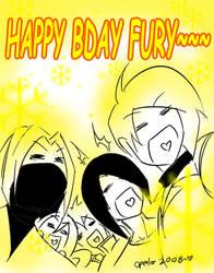 Happy Bday Fury by openlor