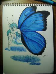 .:Blue by ellah2698
