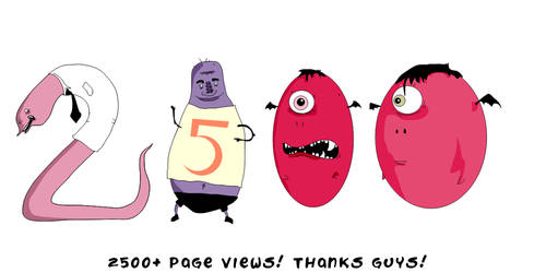 2500 page views by mike-mclennan