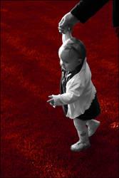 Walking red by kiky270281