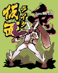 Kamen Rider Usagi by roninbuddha