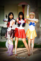 Sailor Scouts by Jru