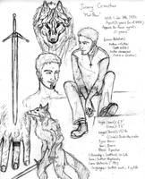 Bio: Jeremy Cruachan by ArgosIosidess