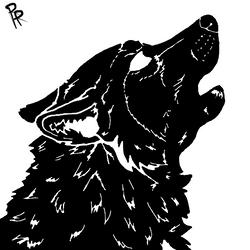 Howling Silhouette by Rain-Rebel