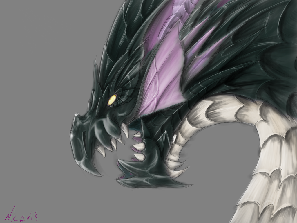 Puzzle And Dragons Vritra By Magicallycapricious On Deviantart