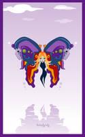 Butterfly Lady by da-flow