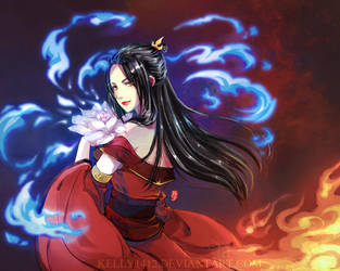 Azula: Princess of Fire by kelly1412