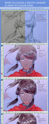 A Hair Coloring Tutorial with Korra by kelly1412