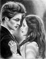edward and bella by abish