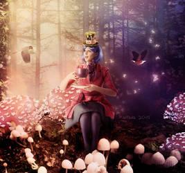 Tea Time In Wonderland by Kallaria
