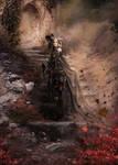 Le depart de la reine by Kallaria