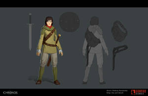 Chronos Main Character Female by Skiorh