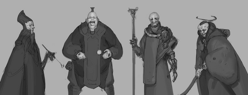 Mages by Skiorh