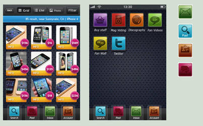 iPhone icon Theme by radzad