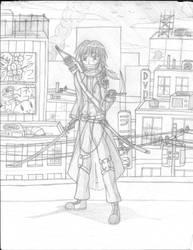 Super Soldier, Half Human and Half Zombie3 by Leokingdom10