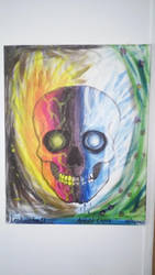 Skull of Life and Death by Leokingdom10
