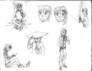 Aisu Doodles by Leokingdom10