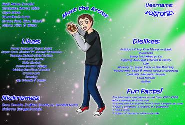 DA ID: Meet the Artist - VoltronZ1 by Magical-Mama by VoltronZ1